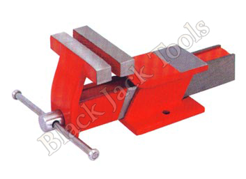 All Steel Fixed Base Bench Vice