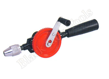 Hand Drill Double Pinion with Plastic Handle(Standard)