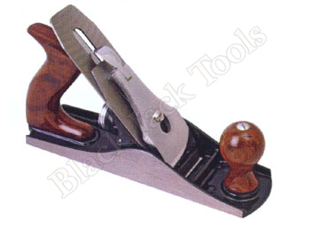 Iron Jack/Smoothing Plane Smooth Base with Wooden Handle
