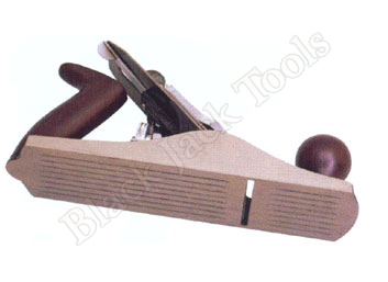 Iron Jack/Smoothing Plane Corrugated Base with Wooden Handle